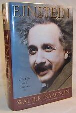 Walter Isaacson EINSTEIN: His Life and Universe First edition SIGNED Physics