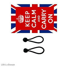 Keep Calm & Carry On UK Flag 5 x 3 Poles Or Windsocks Poles Free Ball Ties
