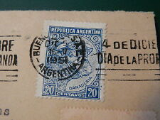 STAMPS ~ REPUBLICA ARGENTINA 1951 ~ RARE ~ 20 Centavos * Ganaderia Cow Cattle