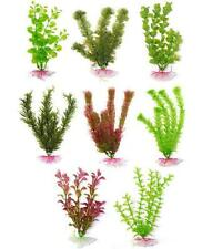 "AQUARIUM PLANT Plants Supa Plastic Aquarium Decoration Plant 8"" / 20cm Fish"