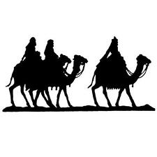 Magi / Camels Silhouette unmounted rubber stamp religious Christmas nativity #13