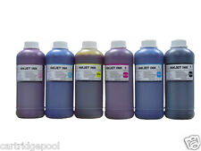 6Pint Refill ink for Epson Stylus photo 1200 Printer S020187 T001011 6X500ML