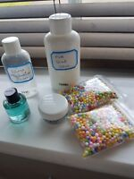 Kids Slime Kit, 6 items, PVA glue, Slime activator,scent,foam beads,sale!!!!