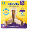 N-Bone QUADO Interactive Dog Treat 1 MEDIUM per Pak Mint, Peanut Butter, Pumpkin