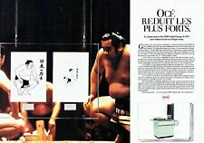PUBLICITE ADVERTISING 027  1982  le photocopieur Océ 1900  (2 pages)