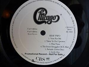 CHICAGO XI Tirage promotionnel PROMO CBS 86031