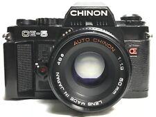 Chinon CE-5 35mm Film Camera SLR EUC