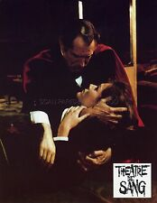 VINCENT PRICE DIANA RIGG THEATER OF BLOOD 1973 8 VINTAGE LOBBY CARDS LOT