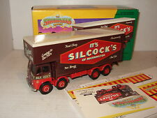 Corgi 12601 Foden Cerrado Polo Camión Set, silcocks de Warrington en escala 1:50.