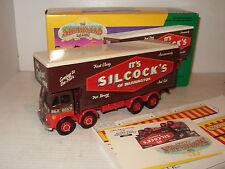 Corgi 12601 Foden fermé Pôle Camion Set, Silcocks de Warrington en 1:50 Echelle