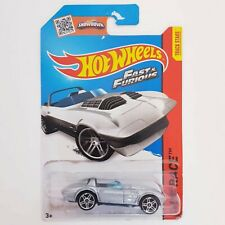 Hot Wheels Corvette C7 Z06 White Long Card