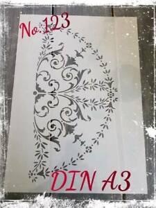 Stencil / Schablone #123 DIN A2 Mandala