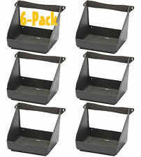 6 PACK STUD MOUNT WASHABLE POLY NESTING BOX CHICKEN EGGS LAYING COOP NEST BOX