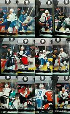 1995-96 Score Check-It Complete Insert Set (12) Hockey Cards NHL Enforcers
