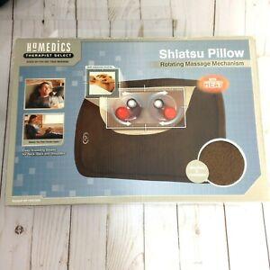 Homedics Shiatsu Pillow with Heated Rotating Massage Mechanism SP-10H-CBNE
