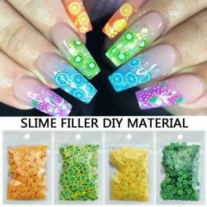 Fruit Lip Gloss Diy Lip Gloss Base Gel Nail Art Decoration NEW Y6R8