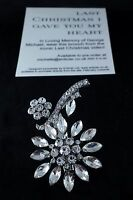 George Michael Tribute, Last Christmas Brooch, available for pre order!