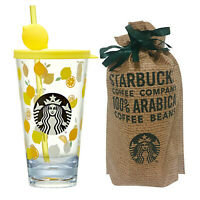 Starbucks Korea 2020 Summer Under The Sea Glitter Glass Coldcup Tumbler 591ml