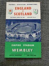 More details for england v scotland (duncan edwards debut) 1955 match day programme