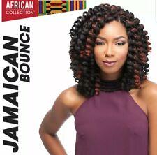 "3 Bags Of 3X Jamaican Bounce Crochet Hair 26"" Black 1B"