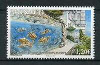 Monaco 2018 MNH Sea Turtles Care Center 1v Set Turtle Reptiles Stamps