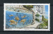 Monaco 2018 MNH Sea Turtles Care Center 1v Set Turtle Reptiles Stamps