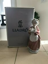 Lladro Mrs Santa Claus # 6893 From Santa'S Magical Workshop Collection Mint Box