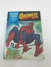 SPIDERMAN #57 - Foreign Comic Book - 1980s 80s - MARVEL - ULTRA RARE