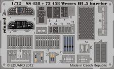 Eduard 1/72 westland wessex HU.5 interior for italeri # SS458