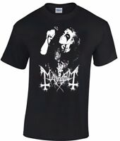 MAYHEM Dead T-shirt norwegian black metal morbid euronymous beherit darkthrone