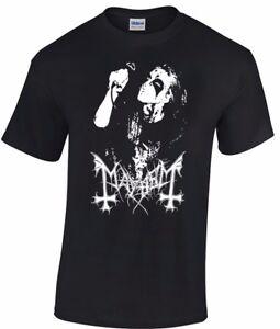 MAYHEM Dead T-shirt norwegian black metal morbid euronymous beherit darkthrone