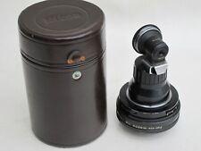 "RARE Nikon fish-eye-Nikkor 8mm f:8 Nippon Kogaku F lens caps/finder/case ""LQQK"""