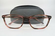 Giorgio Armani AR 7021 5165 Pink Havana New Authentic Eyeglasses 54mm w/ Case