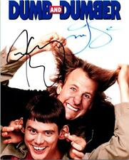 Jeff Daniels Jim Carrey signed 8x10 Photo Picture autographed with COA