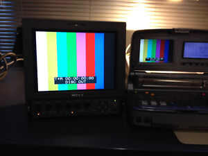 """Sony LMD-9030 9"""" monitor (for parts)"""