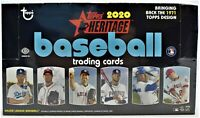 2020 Topps Heritage  (1) HOBBY BOX BREAK #001 - RANDOM TEAMS