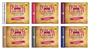 NEW Boxcar Children Set of 6 Audio Books 1 2 3 4 5 Collection Gertrude Warner
