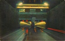 Harbor Tunnel Baltimore Maryland Md Night view Postcard