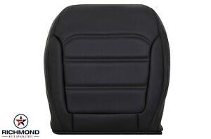 2013 2014 2015 Volkswagen VW Passat -Driver Side Bottom Leather Seat Cover Black
