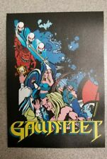 """Gauntlet side cabinet art decal. 4 x 5.5"""". (Buy 3 stickers, Get One Free!)"""