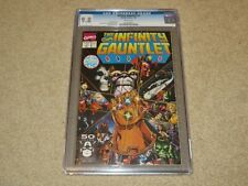 Infinity Gauntlet #1 George Perez Joe Rubinstein Art CGC 9.8 Marvel 1991 White