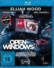 Open Windows [Blu-ray] Elijah Wood Neu!