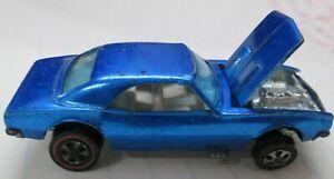 1967 Custom Camaro Redline Hot Wheels Made in USA