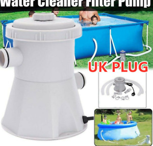 220V Electric Swimming Pool Filter Pump For Above Ground Pools Cleaning Tool