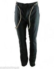 Pantalones de hombre grises chinos 100% algodón