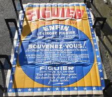 Affiche Cirque Figuier le Cirque sans bluff