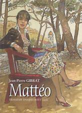 J.P Gibrat Mattéo troisième époque ( août 1936 ) tirage de tête