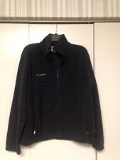 Colombia Sportswear Mens Zip up Black Fleece, Size Medium