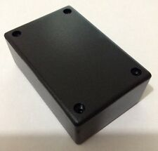 ABS Plastic Zippy Box For Electronics Projects Black L 83 x W 54 x H 30 mm
