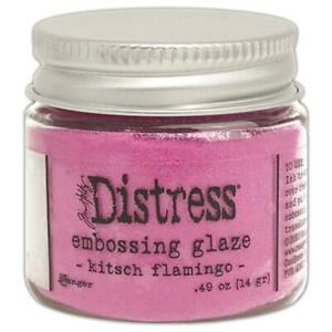 Kitsch Flamingo - Tim Holtz Distress Embossing Glaze - Ranger